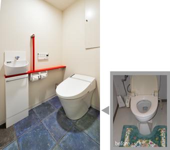 ゆめや施工例【神戸市N邸】トイレ