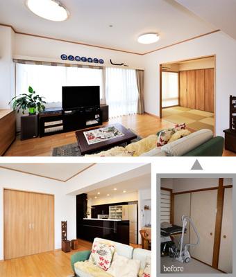 ゆめや施工例【M057神戸市F邸】和室