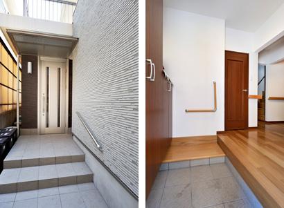 ゆめや施工例【K030神戸市N邸】玄関・エントランス