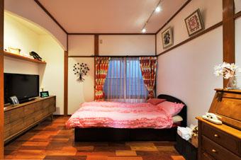 ゆめや施工例【K025西宮市O邸】奥様の寝室