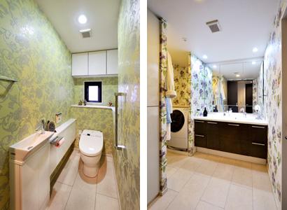 ゆめや施工例【M060神戸市M邸】トイレ・洗面室
