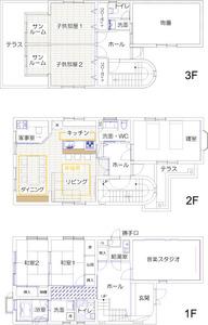 ゆめや施工例【K023尼崎市I邸】間取り図面:アフター
