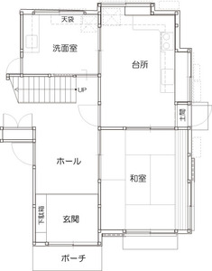 ゆめや施工例【K026西宮市K邸】間取り図面:ビフォー